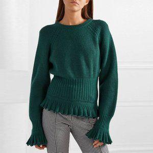 ⚡Opening Ceremony pointelle peplum sweater - Large